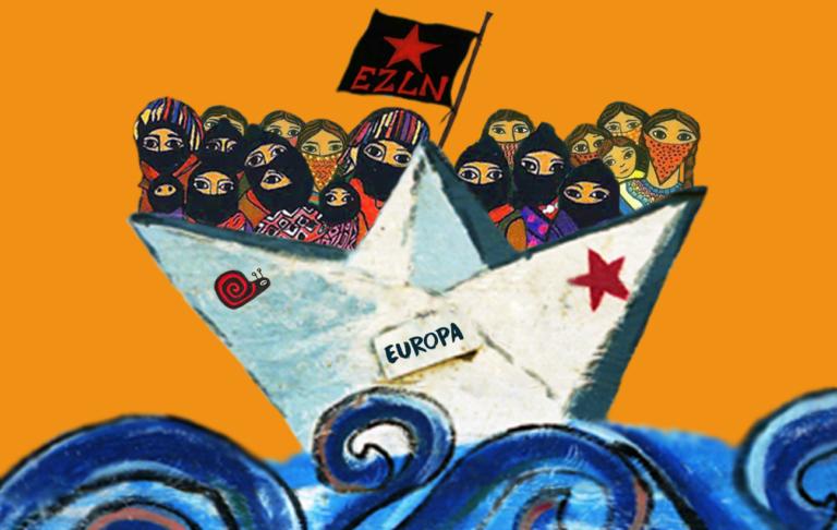 Η περιοδεία των Ζαπατίστας, μια συγκέντρωση επαναστατών