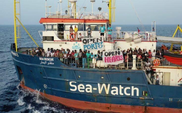 Κατάσχεση του διασωστικού πλοίου Sea Watch 3 από τις ιταλικές αρχές