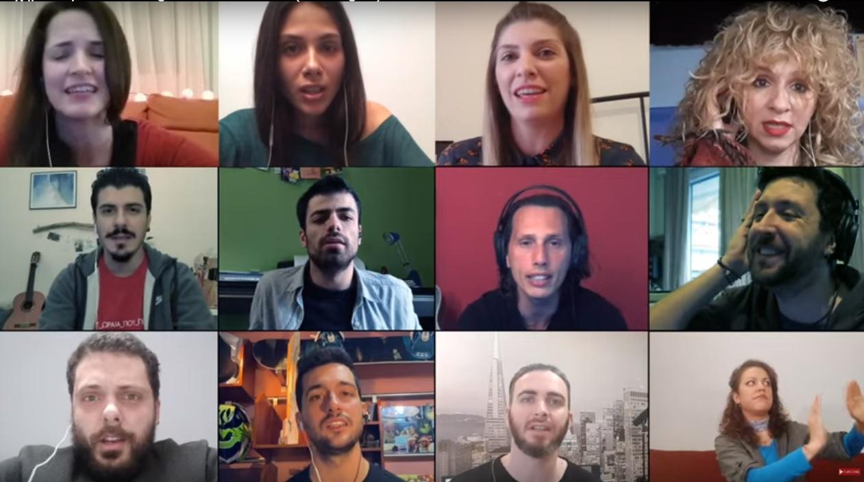«Σχήμα λόγου» – 40 καλλιτέχνες από τη Θεσσαλονίκη μπαίνουν με τις φωνές τους στα σπίτια μας