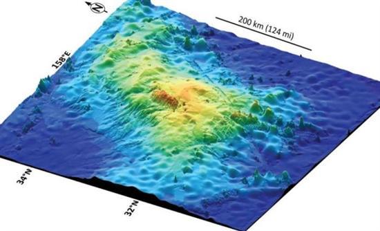 Αποκαλύφθηκε το μεγαλύτερο ηφαίστειο του κόσμου