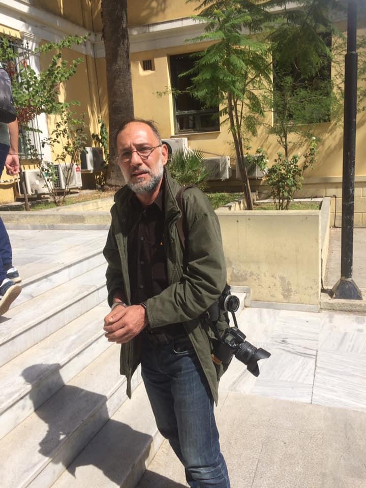 Φίμωση φωτορεπόρτερ, τον συνέλαβαν κατά την εκκένωση της κατάληψης προσφύγων στα Εξάρχεια