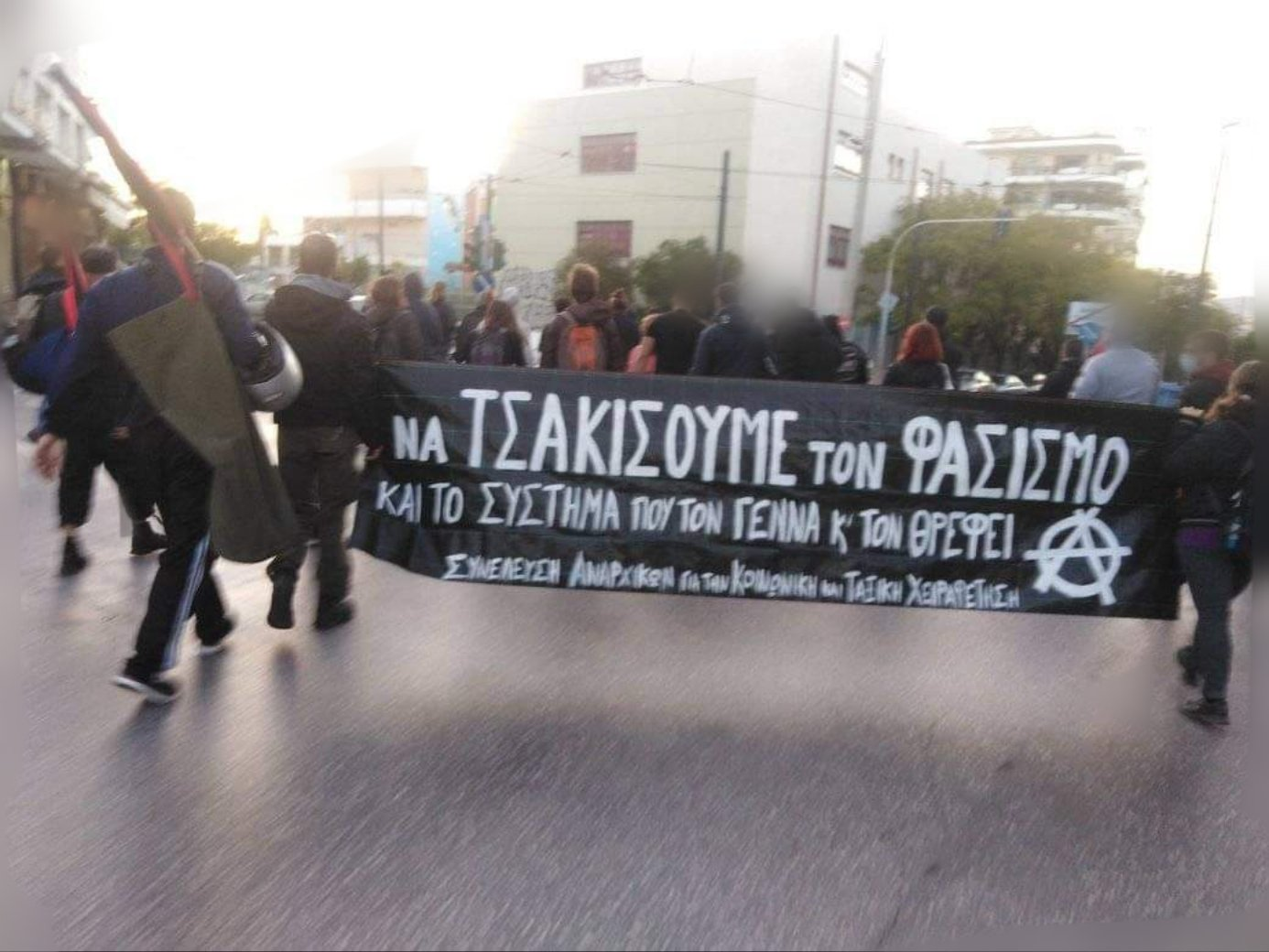 Διπλή απαγόρευση αντιφασιστικής συγκέντρωσης και άγριος ξυλοδαρμός διαδηλωτών στην Αθήνα