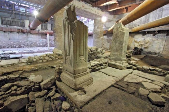 Λίνα, να μία μελέτη! (για τη διατήρηση των αρχαιοτήτων του σταθμού Βενιζέλου στη θέση τους μέσα στο σταθμό)