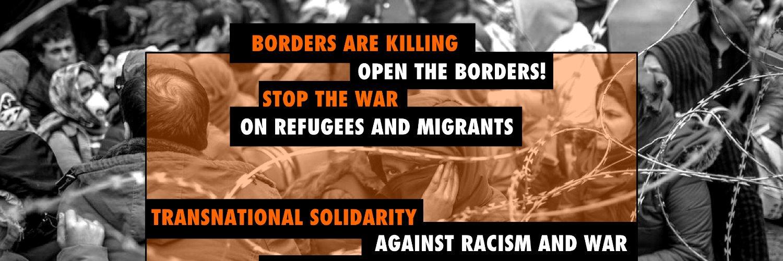Κοινή δήλωση συλλογικοτήτων και οργανώσεων ενάντια στον ρατσισμό και τον πόλεμο