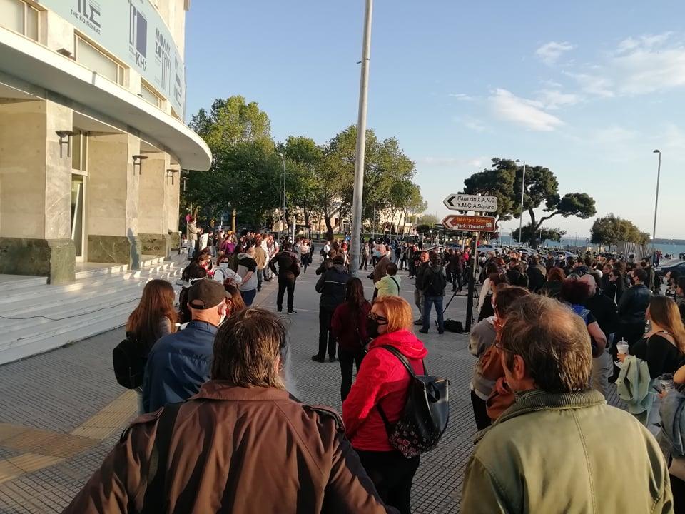 «Μαζί δυνατοί» το σύνθημα των ανθρώπων του πολιτισμού στη Θεσσαλονίκη