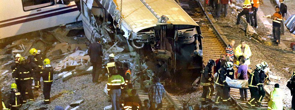 Τραγικό δυστύχημα με τρένο στην Ισπανία- Δεκάδες οι νεκροί