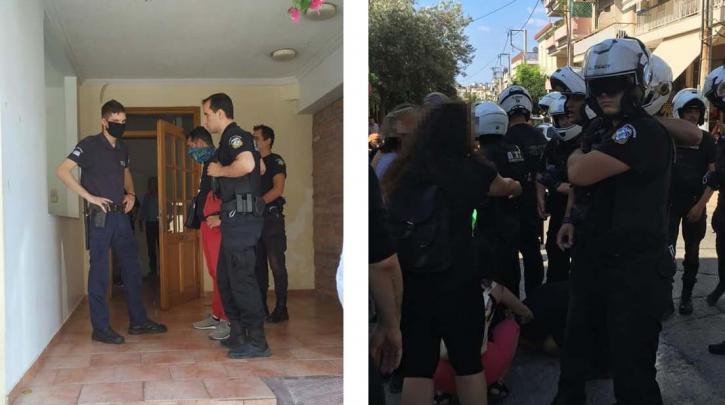 Έξωση ηλικιωμένων από σπίτι στα Πετράλωνα με αστυνομική επέμβαση