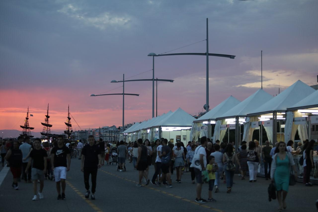 Έλεγχοι του ΣΔΟΕ στο Φεστιβάλ Βιβλίου Θεσσαλονίκης