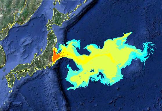 Μολυσμένο νερό από τη Φουκουσίμα στον Ειρηνικό
