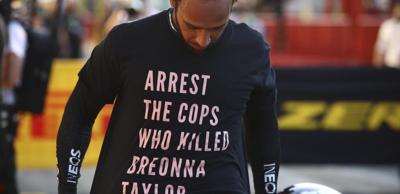 #blacklivesmatter Λιούις Χάμιλτον: «Συλλάβετε τους αστυνομικούς που σκότωσαν την Μπριόνα Τέιλορ»