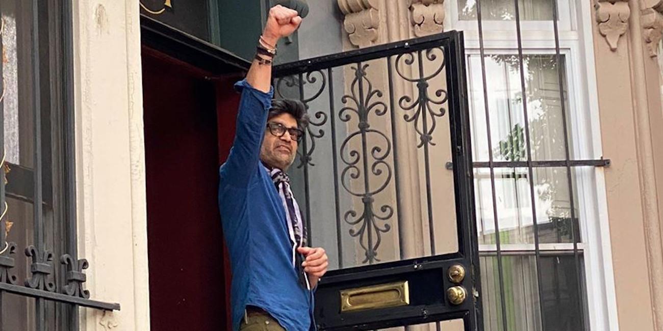 Αυτός είναι ο Rahul Dubey: Ο Ινδός που άνοιξε την πόρτα του στους διαδηλωτές στις ΗΠΑ