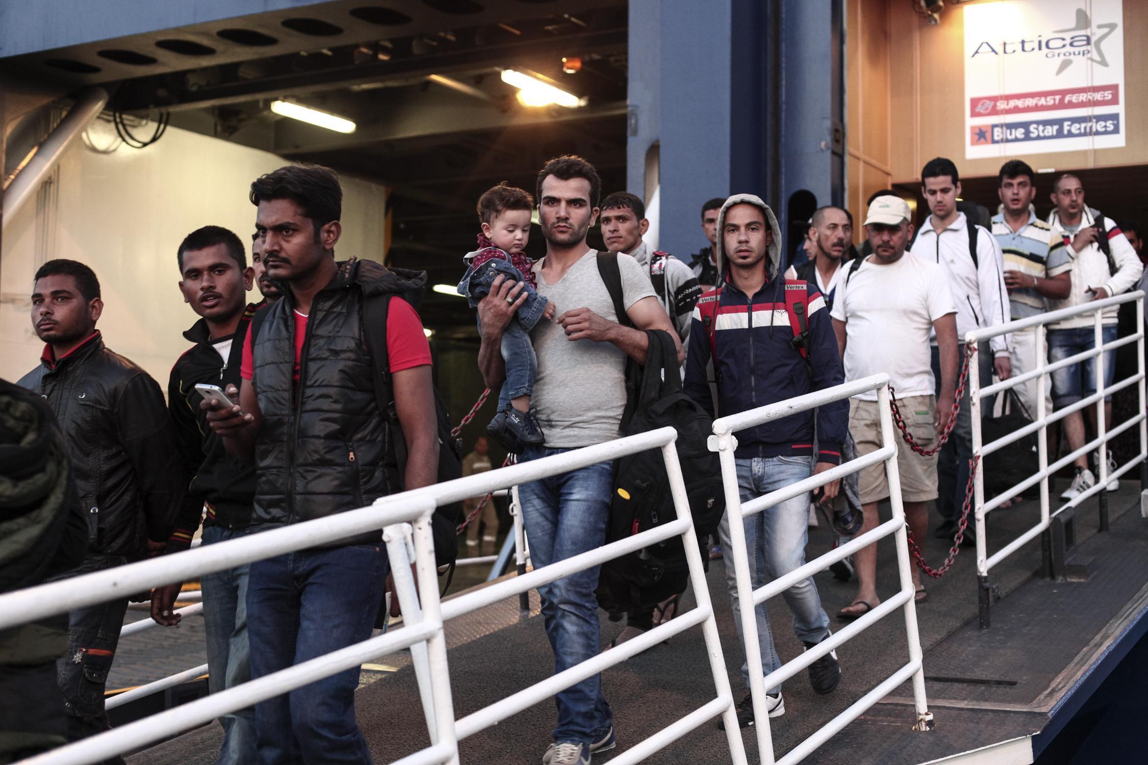 Σύσκεψη στη Γενική Γραμματεία Αιγαίου για το μεταναστευτικό