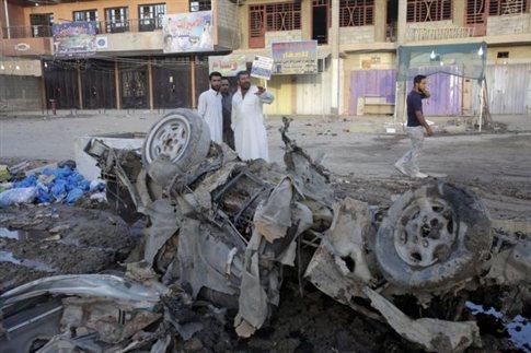 60 νεκροί από επιθέσεις στο Ιράκ