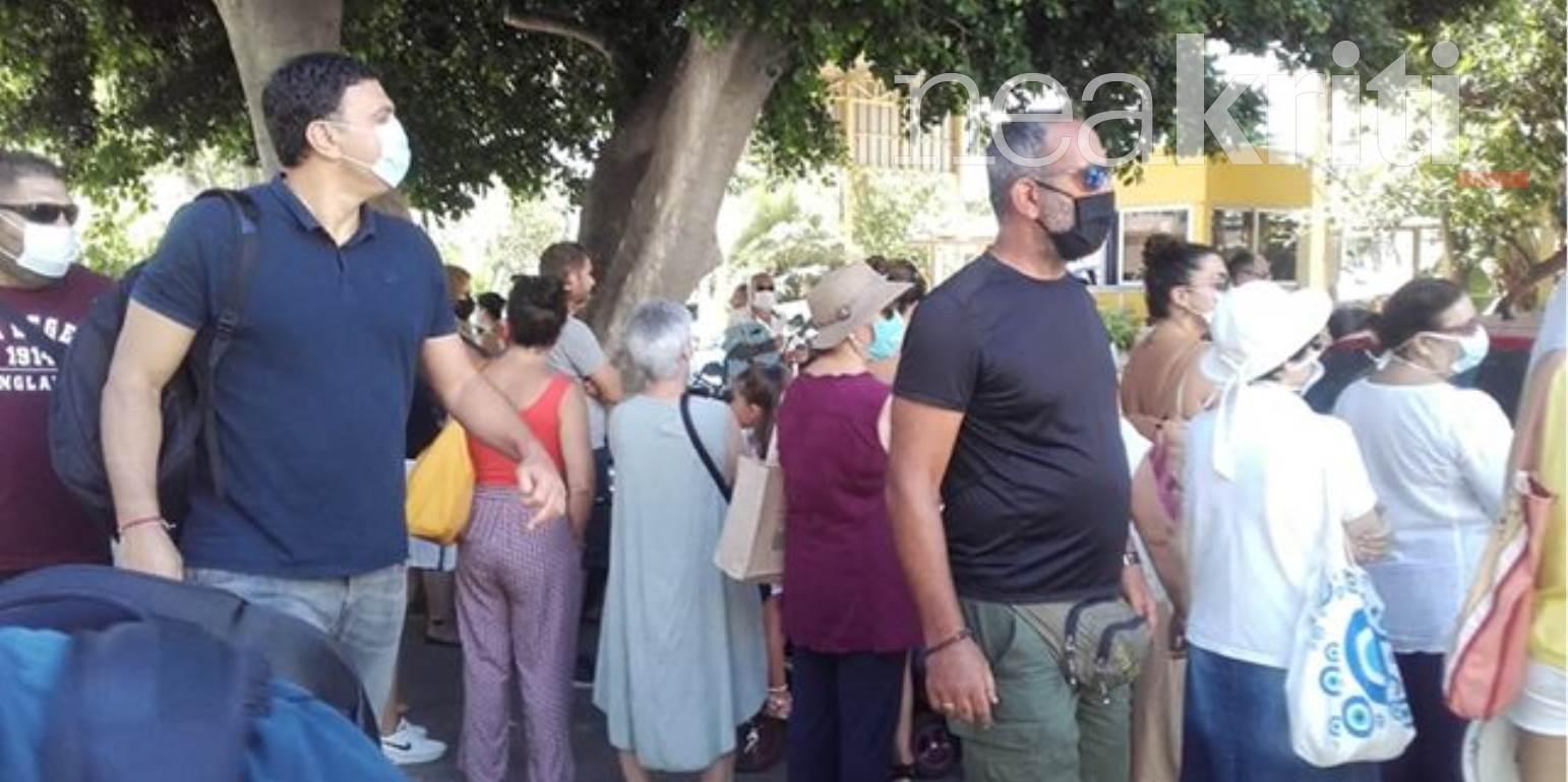 Γύρισαν… την πλάτη στον Βασίλη Κικίλια στο νοσοκομείο Ρεθύμνου