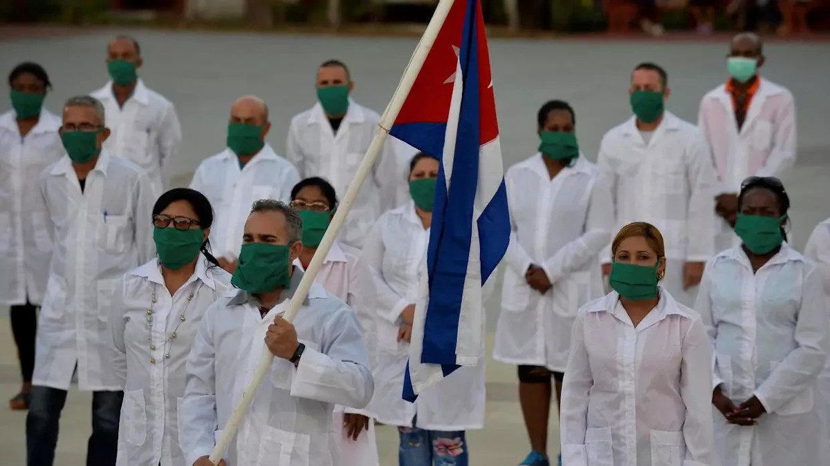 Την συνδρομή της Κουβανικής Ιατρικής Ταξιαρχίας στη Θεσσαλονίκη ζητά η Δ. Χαραλαμπίδου