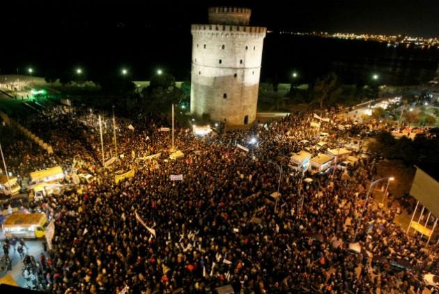 Θεσσαλονίκη: Νέα συγκέντρωση του «ΟΧΙ» στον Λευκό Πύργο