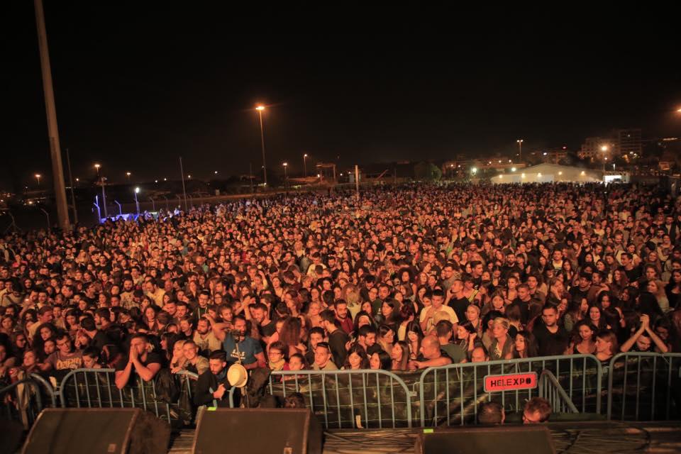 Η Θεσσαλονίκη είπε ξανά ΟΧΙ στην εξόρυξη χρυσού-χαλκού με μια μεγάλη συναυλία