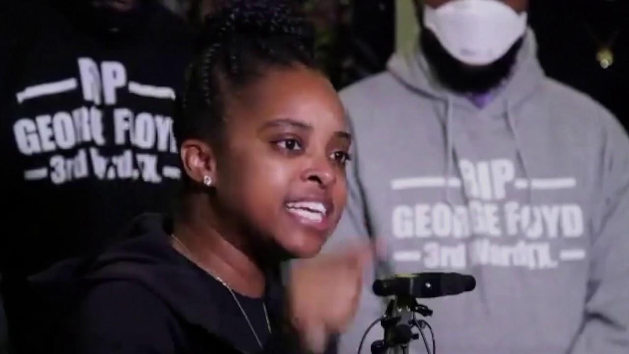 «Η Αμερική λεηλατεί τους μαύρους», λέει η ακτιβίστρια Tamika Mallory