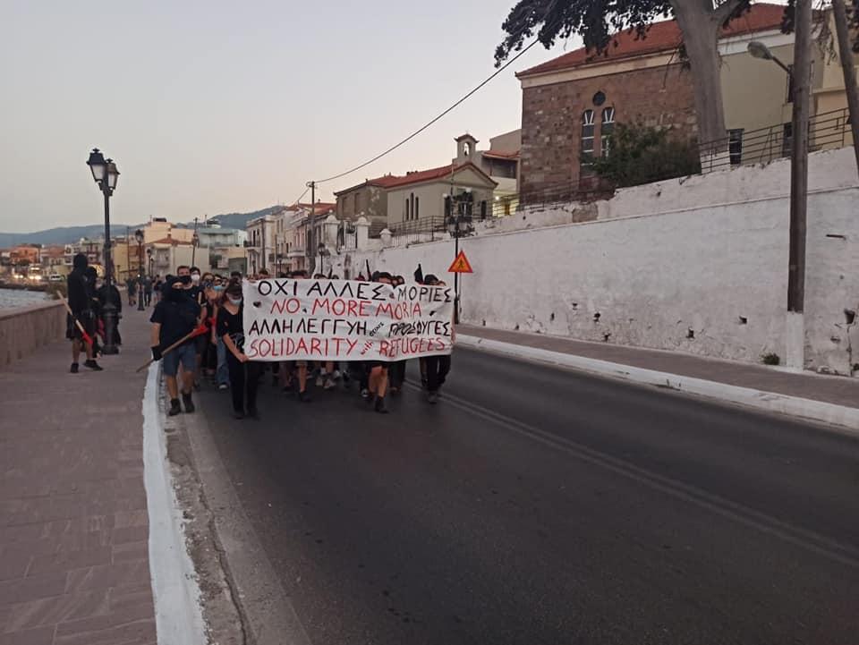 Αστυνομική επίθεση καταγγέλλει η Συνέλευση Βάσης Εργαζομένων ΜΚΟ στη Λέσβο