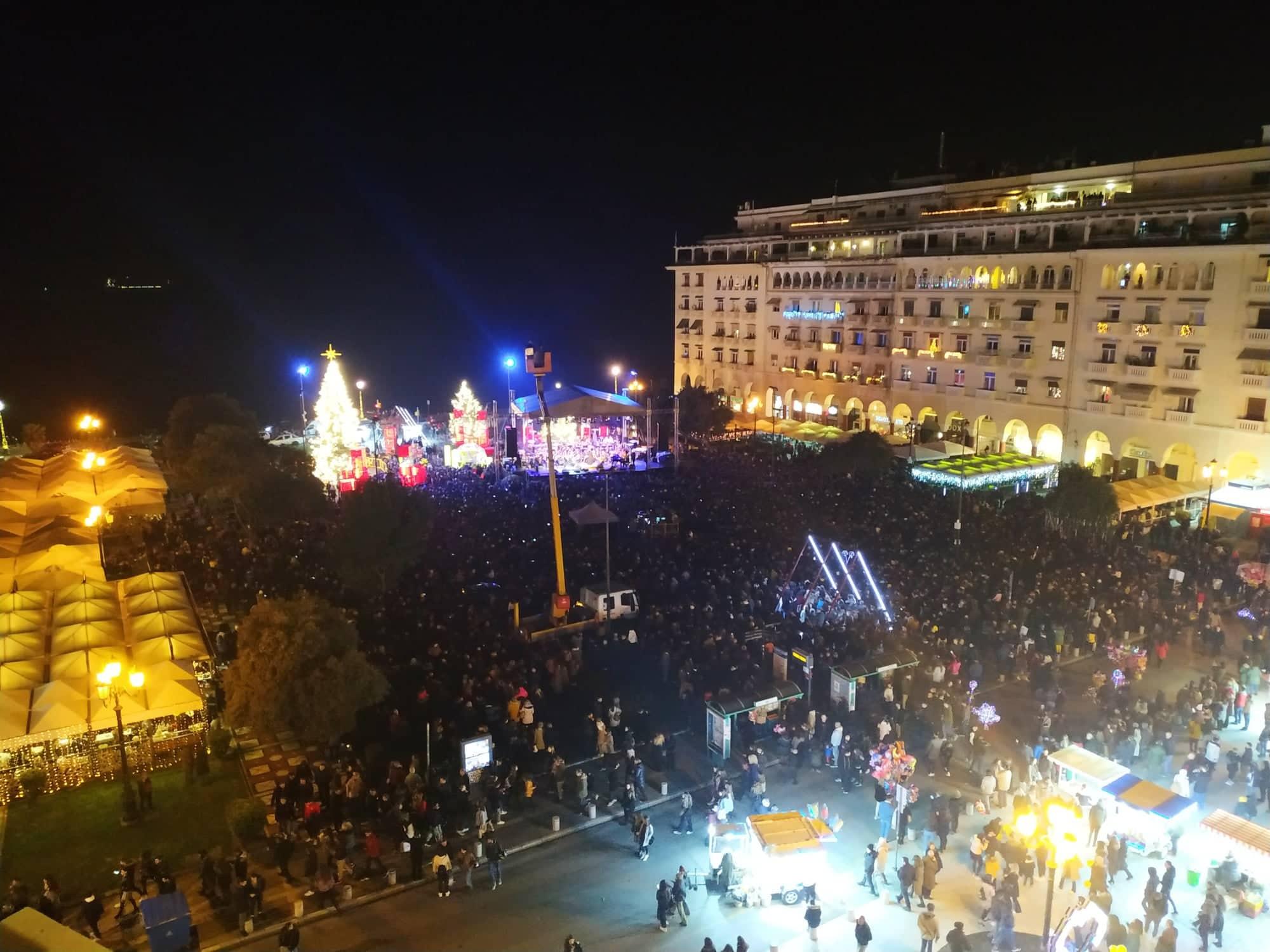 Επτά προσαγωγές για… μπαλόνια στη Θεσσαλονίκη