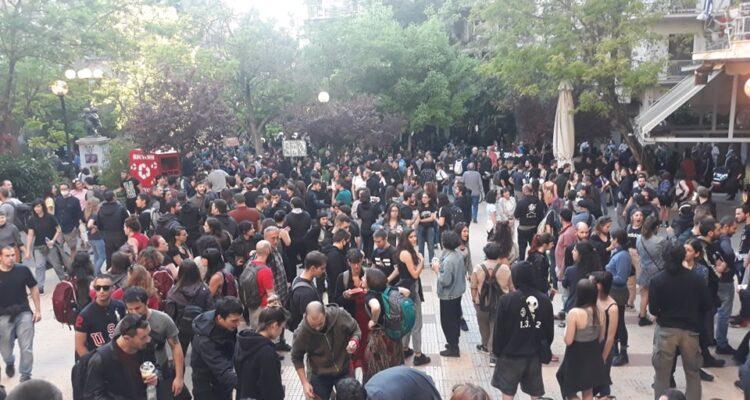 Ενάντια στις γειτονιές φυλακές: Πορεία στην Κυψέλη κατά της αστυνομικής καταστολής