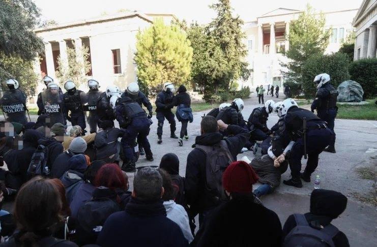 Ο Σύλλογος Μεταπτυχιακών ΕΜΠ καταγγέλλει τη φασιστική εισβολή της αστυνομίας στο Πολυτεχνείο