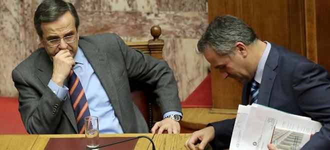 Απών ο Σαμαράς από τη συζήτηση – Βορίδης σε ρόλο πρωθυπουργού