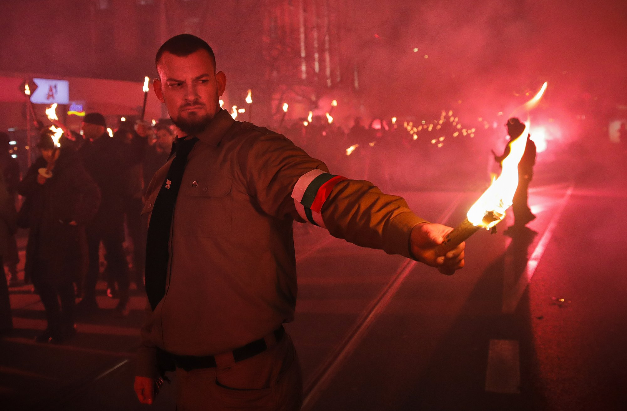 Εθνικιστές στη Βουλγαρία κάνουν πορεία τιμώντας φιλο-Ναζί στρατηγό
