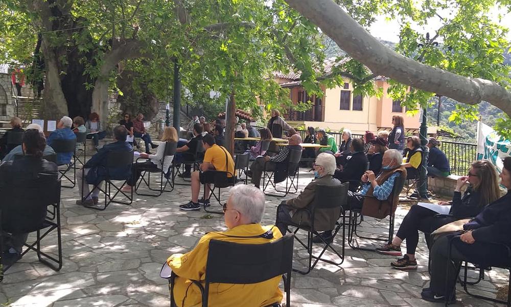 Σταγιάτες: Η λαϊκή συνέλευση ανέλαβε τη διαχείριση του χωριού
