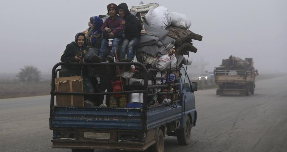 Πάνω από 120.000 Σύροι εγκαταλείπουν την Ιντλίμπ