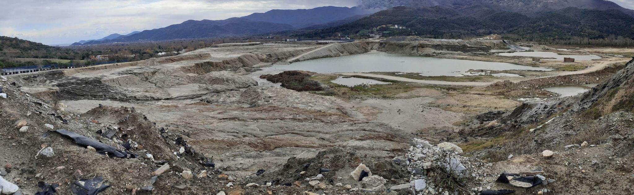 Η υποκρίσια της Ελληνικός Χρυσός περί απομάκρυνσης των παλαιών τελμάτων της Ολυμπιάδας