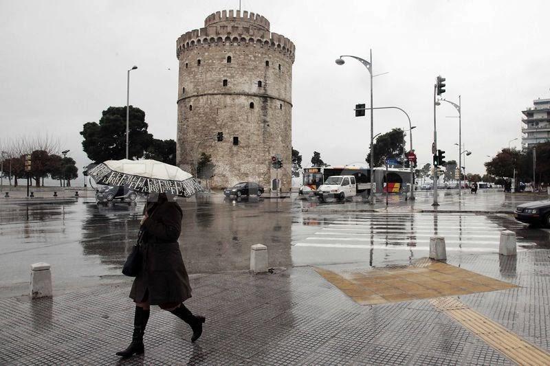 Βροχερός καιρός σήμερα