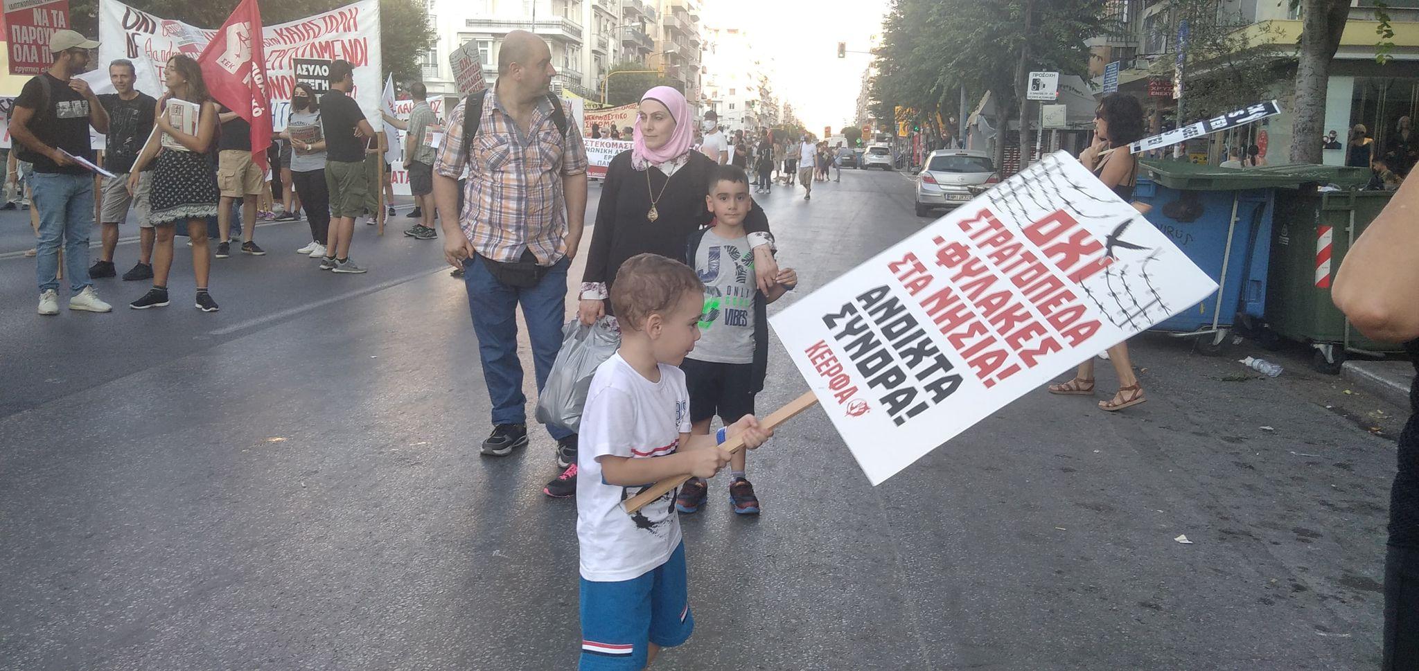 Διαδηλώσεις στη Θεσσαλονίκη ενάντια στην κυβερνητική πολιτική (Φωτογραφίες)