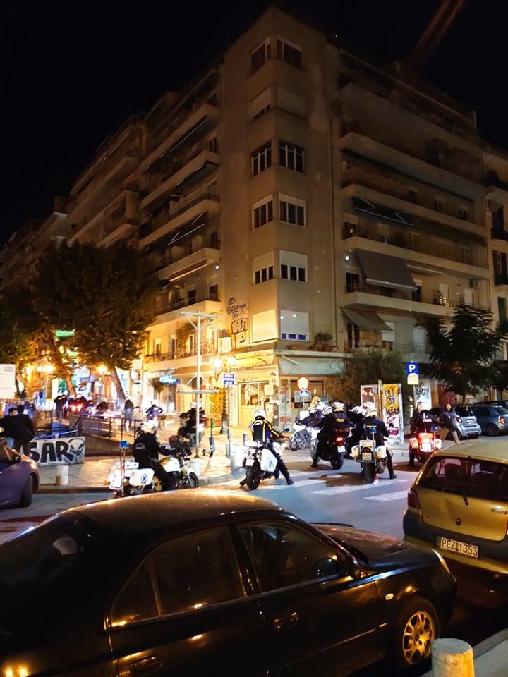Επέμβαση της αστυνομίας στην Ρωμαϊκή Αγορά τα ξημερώματα της Τετάρτης