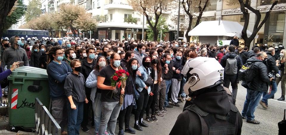 Κυνική ομολογία της αστυνομίας ότι εγκλώβισε πολίτες για ώρες στη Θεσσαλονίκη