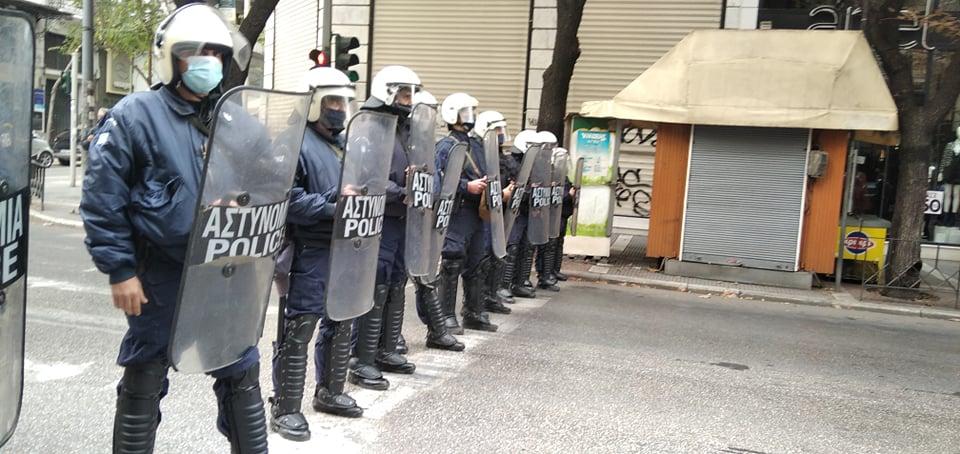 Η καταστολή ως θεραπεία: νέες αστυνομικές δυνάμεις μεταφέρονται στη Θεσσαλονίκη